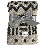 Saranoni Super Soft Blankets for Babies Ultra Soft Double Layer Bamboo Luxury Baby Blanket (Mudcloth, Receiving Blanket 30' x 40')