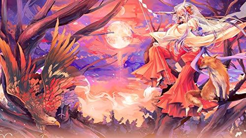 keletop 1000pcs Rompecabezas de Madera_Hatsune Girl Spirit_Jigsaw Anime Toys Juguetes educativos niños Puzzle Toys_50x75cm