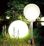 Jumbo Giant LED Solar Garden Mood Ball Sphere...