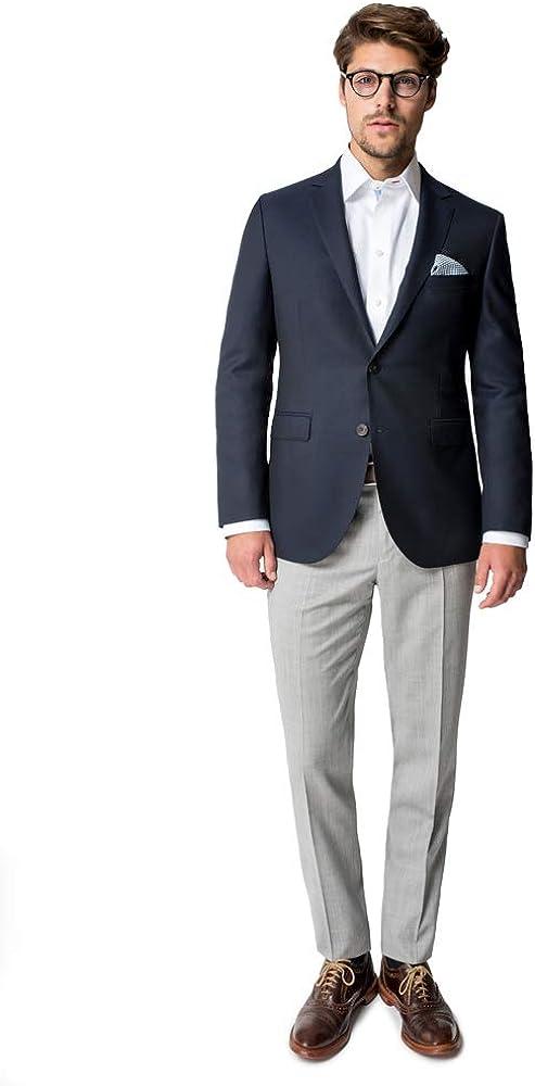 Paul Betenly Men's Trim Fit Navy Blazer