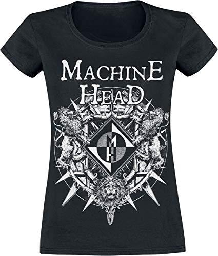 Machine Head Bloodstone Frauen T-Shirt schwarz S 100% Baumwolle Band-Merch, Bands, Nachhaltigkeit