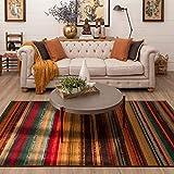Mohawk Home Avenue Stripe Indoor/Outdoor Area Rug, 5'x8', Multi