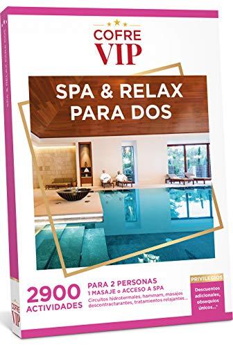 CofreVIP Caja Regalo SPA & Relax para Dos 2.900 Actividades a Elegir para Dos Personas.
