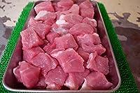 お肉屋さんの 酢豚 カレー 用 カット済( 豚肉 肩ロース モモ肉 ) ドカッと 1キロ(1000g)