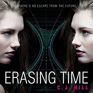 Erasing Time audiobook cover art