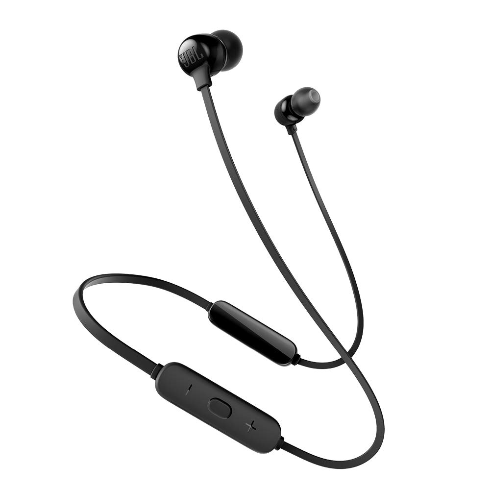 JBL Tune 115BT in-Ear Wireless Headphones with Deep Bass, 8-Hour Battery Life and Quick Charging (Black)