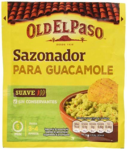 Old El Paso Sazonador para Guacamole, 20g