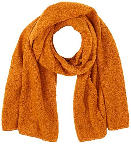 Vila NOS Damen Vitobi Knit Scarf-Noos Schal, Gold (Golden Oak Golden Oak), One Size (Herstellergröße:ONESZ)