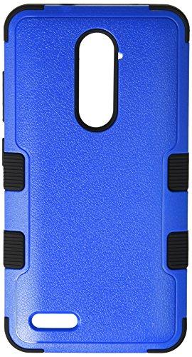 Asmyna Cell Phone Case for ZTE Zmax Pro - Natural Dark Blue/Black