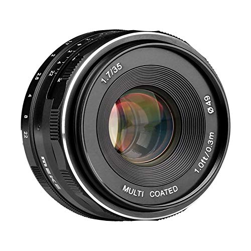 Meike Optics 35 mm/f 1.7 Nikon - Objetivo Gran Angular.