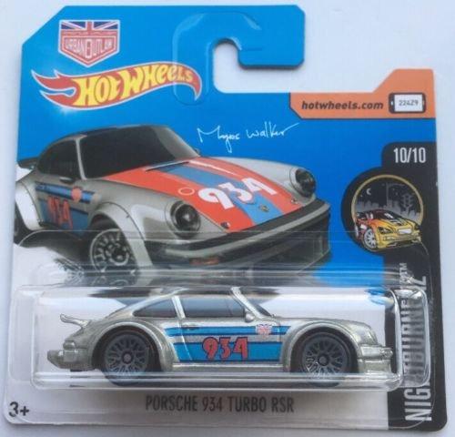 Hot Wheels 2017 HW Night Burnerz Magnus Walker Porsche 934 Turbo RSR Silver 68/365 (Short Card) …