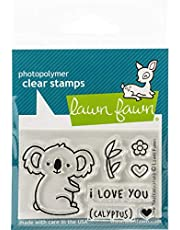 Lawn Fawn Clear Stamps 7.6cm x 5.1cm - LF1823 I Love You(calyptus)