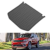 JOYTUTUS Cargo Mat Trunk Liner Compatible with Grand Cherokee, Cargo Liner All Weather Vehicle Carpet Heavy Duty Waterproof Odorless Durable fit Grand Cherokee 2011-2021