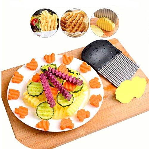 jejfdie Pommes Frites Gemüse Utensilien,Kartoffelscheiben-A