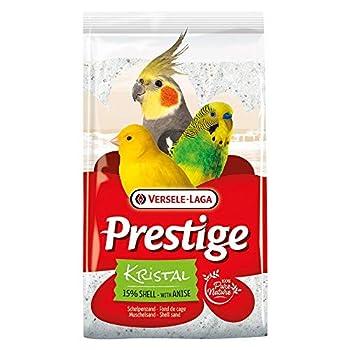 VERSELE LAGA Sable Blanc Prestige Kristal à l'anis pour Fond de Cage à Oiseaux Sac 5 kg