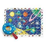 Ludattica Puzzle 108 pièces : Detective rompecabezas: Dans l'Espace
