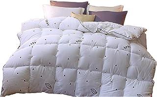 Edredón de plumas para el hogar, Nordic Home Comfort Colcha cálida White Core 150 * 200 cm / 180 * 220 cm / 200 * 230 cm / 220 * 240 cm Antibacteriano Anti-mite Bedding Dormitory Bedroom Available Tel