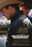 Brokeback Mountain Movie Poster (68,58 x 101,60 cm)