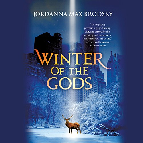 Winter of the Gods audiobook cover art