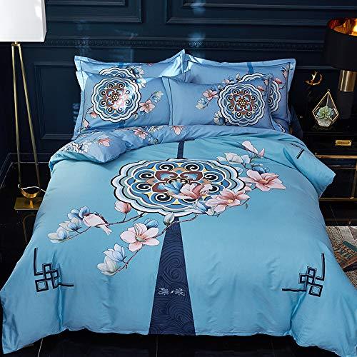 yaonuli Lenzuolo copriletto in Cotone Quattro Pezzi Tessili per la casa di Alta qualità Luosi rima da 1,8 m