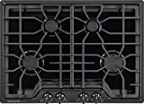 Frigidaire Gallery 30 Inch Gas, Black 4-Burner Range with Liquid Propane Conversion Kit, FGGC3045QB Cooktop