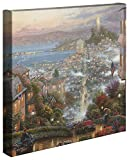 Premium Canvas Substrate Hardwood Stretcher Bar Hand Wrapped Certificate of Authenticity Included Genuine Thomas Kinkade Home Décor