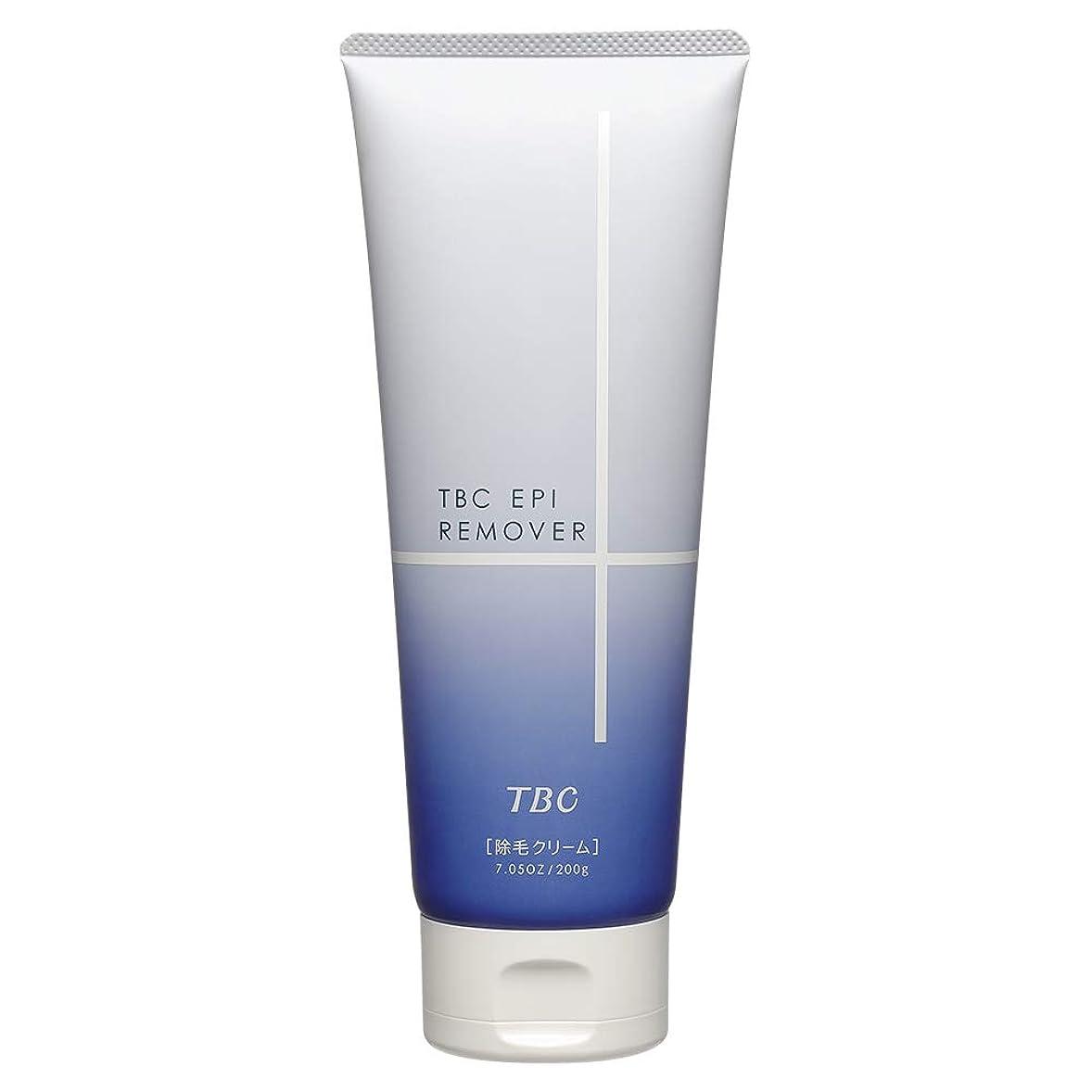 哀癒す独占エステティックTBC TBC エピリムーバー クリーム フローラルの香り 200g