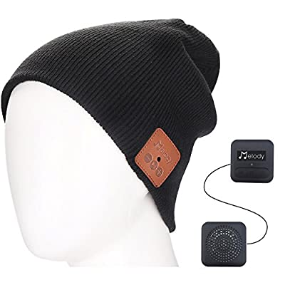 Bluetooth Music Beanie Cap, Coeuspow Wireless 4...