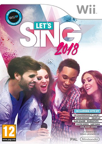 Giochi per Console Deep Silver Sw Wii 1022053 Let's Sing 2018+Mic