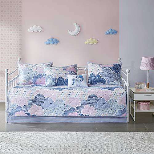 Urban Habitat Kids Quilt Coverlet Bedspread Bedding Set, fabric, Blue, Daybed Size