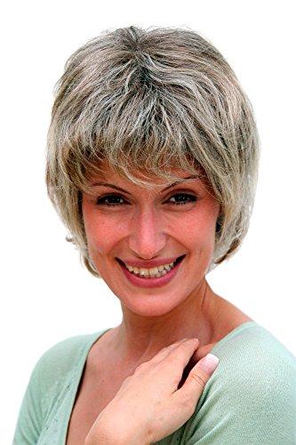 Perruque, coupe courte, gris, femme d'âge mûr, 26062-4T220H12