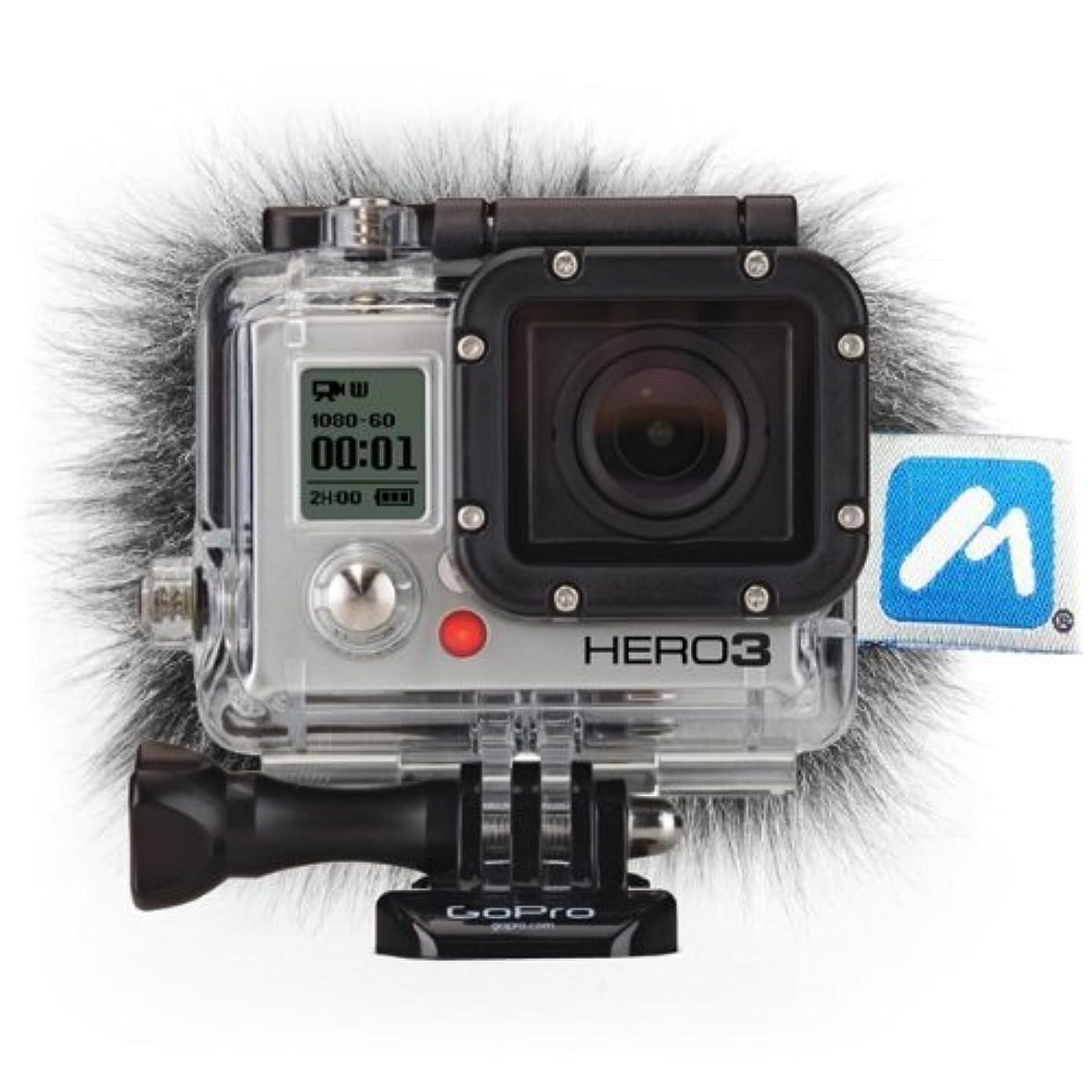 Micover Stickover Windscreen for GoPro HERO3, HERO2, HERO (Black, Silver, White)