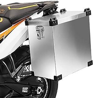 Maleta Lateral de Aluminio para Motos para Suzuki XF 650 Freewind, VX 800 Bagtecs Namib 35l Bolsa Lateral