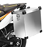 Maleta Lateral de Aluminio para Motos para Honda Transalp XL 600/650/ 700 V Bagtecs Namib 35l Bolsa Lateral