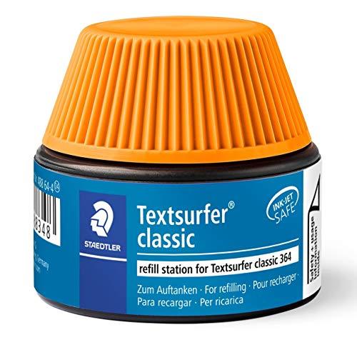 Staedtler 488 64-4 Textsurfer Classic Marker Pen 15-20 Refills for 364 Orange