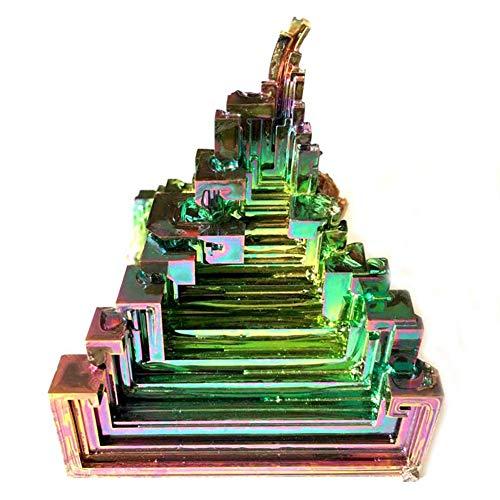 SZPP Mineraliensammlung, 30 Gramm Wismutkristallproben Metallkristalle Naturkristalle Schmuck Fine Art