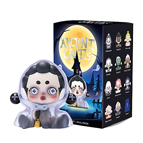 POP MART Skullpanda Ancient Castle 1PC Blind Box Toy Bulk Popular Collectible Random Art Toy Hot Toys Cute Figure Creative Gift, for Christmas Birthday Party Holiday
