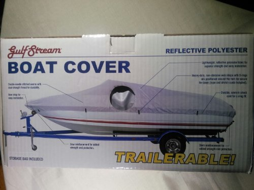 DMC Boat Cover Model a (Fits 14-16 Ft.) Trailerable