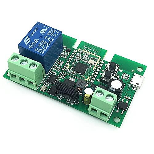 Fauge Interruptor de Relé Wifi Ewelink para ZigBee 3.0, Interruptor Inteligente, MóDulo RF, AutomatizacióN del Hogar Inteligente, Interruptor DIY, Interruptor de 1CH 5-32V