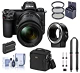 Nikon Z7 FX-Format Mirrorless Digital Camera with 24-70mm Lens, Basic Bundle with FTZ Mount Adapter, Neck Strap, Extra Battery and Accessories