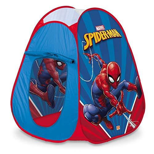 Mondo Toys - Spiderman Pop-Up Tent - Tienda de Juegos para niño/niña - Easy to Open - Bolsa de Transporte incluida - 28427