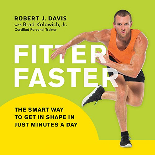 Fitter Faster audiobook cover art