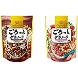 日清シスコ ごろっとグラノーラ 2種アソートセット(チョコナッツ3袋 いちごづくし3袋)