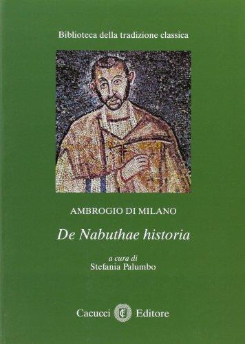 Ambrogio di Milano de Nabuthae historia