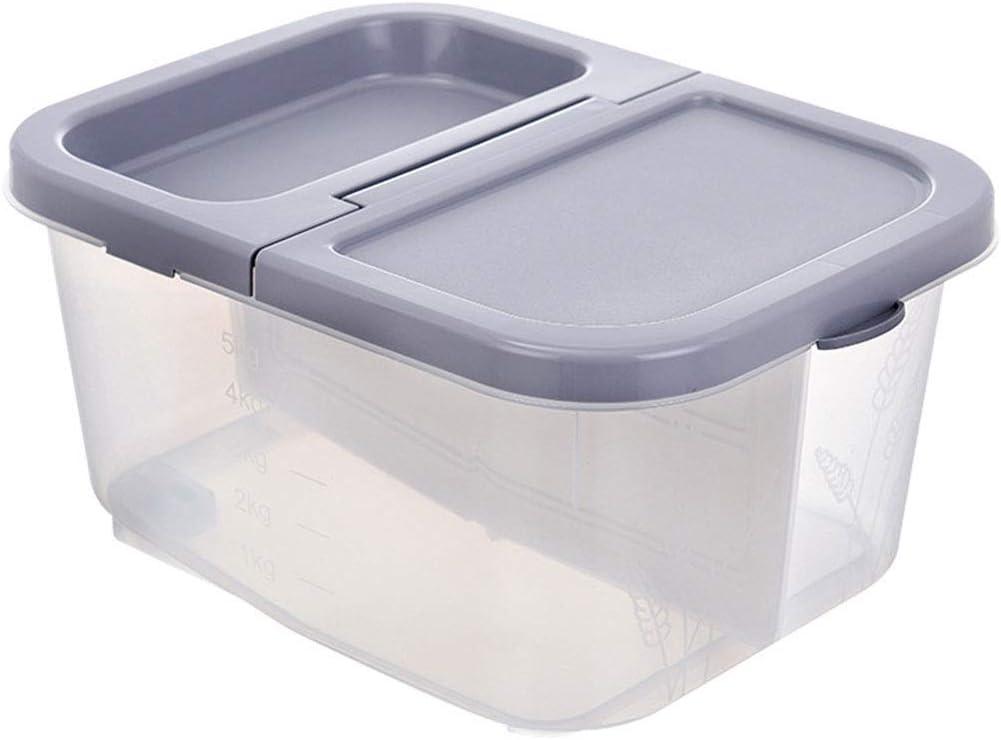woyaochudan Cheap mail New color order sales Rice Storage Container 22Lb Moisturep Airtight 10KG