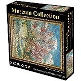 Clásico juego de rompecabezas 2000 Pieza de rompecabezas - El árbol de melocotón rosado de Van Gogh Puzzle Vicente for Niños Adolescentes Adultos de presión reducida de juguete de regalo Robusto y fác