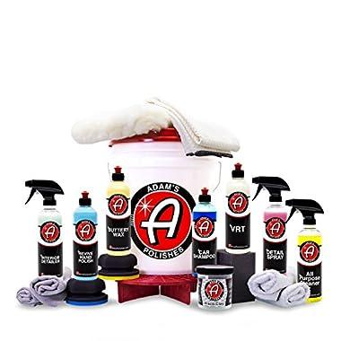 Adam's Essentials Complete Car Detailing Classic Kit