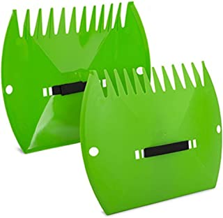 Lawn Claws – Easy and Durable Plastic Garden Hand Rake and Yard Leaf Scoop Tool, 45TAF6
