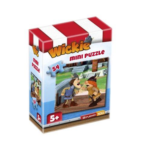 Wickie und die starken Männer, Tjure und Snorre, 54-teiliges Mini-Puzzle, 5+
