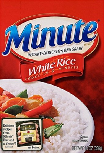 Minute Rice Long Grain White Rice - 14 oz pack of 2